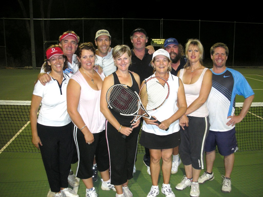 Senior Div 4 Doubles Premiers - Summertown