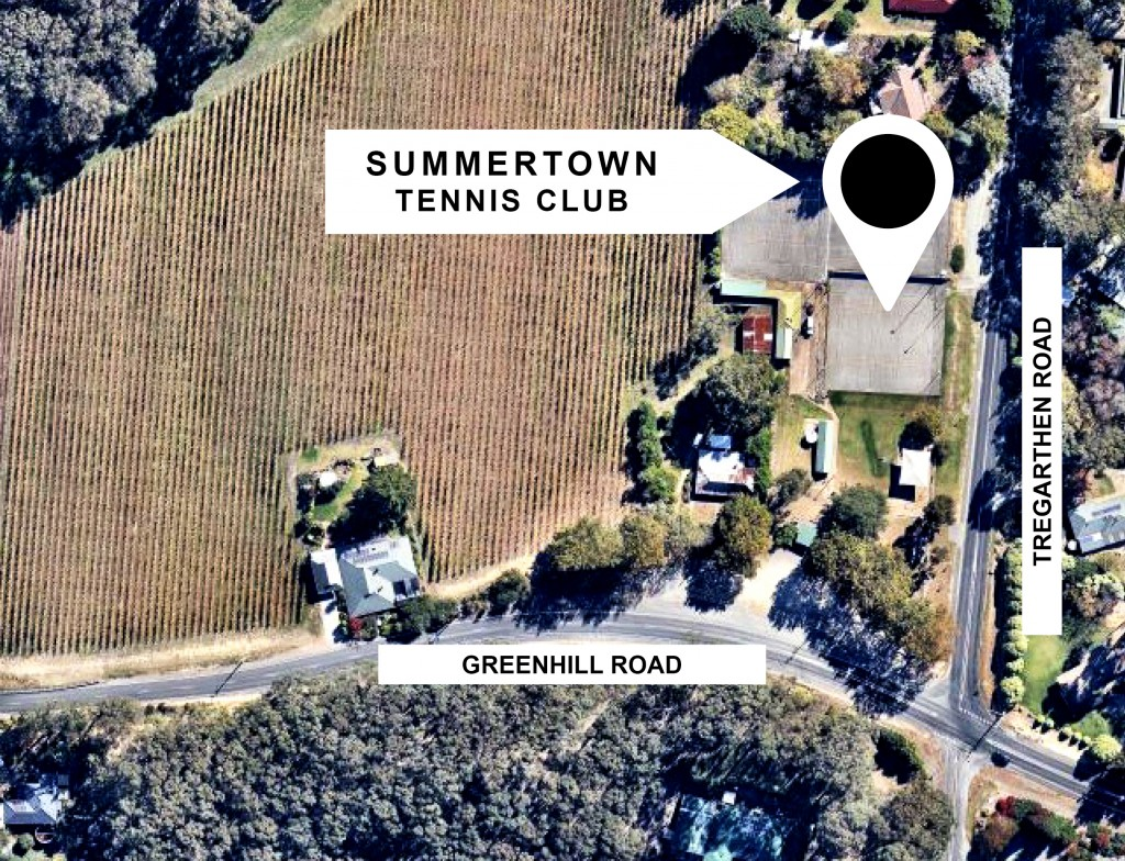 Summertown Tennis Club - location map